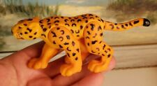 "Cheetah Toy Jointed Toy Poseable 5"" Collectible Figure Figurine"