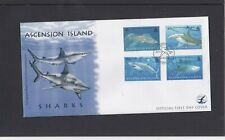 Ascension Island 2008 Sharks First Day Cover FDC