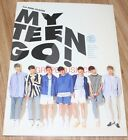 MY TEEN MYTEEN GO! 1st Mini Album K-POP CD + PHOTOCARD + POSTER IN TUBE CASE