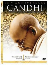 GANDHI DVD - 25TH ANNIVERSARY EDITION [2 DISCS] - NEW UNOPENED - BEN KINGSLEY