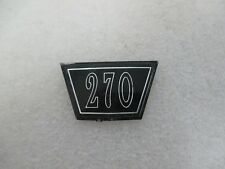 """Mopar """"NOS"""" 1964 Dodge Dart 270 Hood Ornament Insert 2417943"""