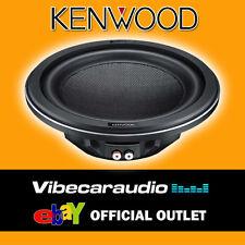 "Kenwood 1400 Watts 12"" Shallow Mount Carbon Fibre Car Subwoofer Sub Woofer Bass"