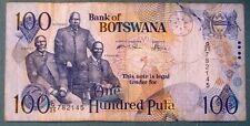 BOTSWANA 100 PULA NOTE FROM 2004, P 29 a