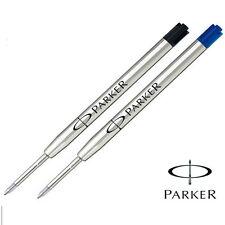 Parker Medium Quink Refill for Ballpoint / Ball Pen Black or Blue Ink