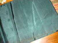 Vintage Satin Fabric DARK HUNTER GREEN 3 Yds