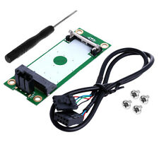 Mini PCI-E PCI Express to USB Interface With SIM Card Adapter 180 Degree