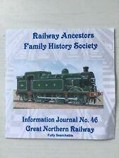 Genealogy: Railway Ancestors Family History Society Journal 46 CD