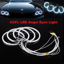 4PCS Xenon White Led CCFL Angel Eyes Halo Rings Lights Lamp For BMW E36 E39 E46