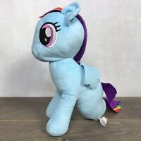 "My Little Pony Rainbow Dash Sea-Pony, Seahorse, Sea Blue 13"" Plush Stuffed Toy"