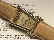 vintage lecoultre grasshopper aristocrat swiss made 10 kt gold filled watch