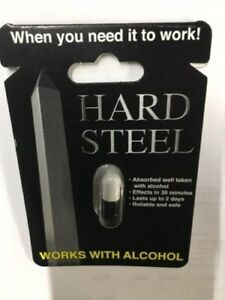 8x HARD STEEL MALE ENHANCEMENT PILLS THE BEST THERE IS!
