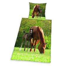 Herding Kinderbettwäsche Pferd Pferdebettwäsche 44240/28.050 135x200cm Geschenk