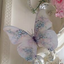 4 Stunning Forget me Not Gift 3D Butterflies Butterfly Gifts Decals Accessories