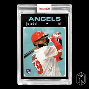Topps Project70® Card 32 - 1971 Jo Adell by Jacob Rochester (PRE-SALE)