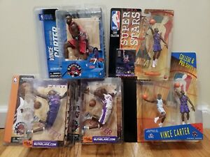 Lot Of Vince Carter Mcfarlane/starting Lineup Figures