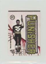 1986 1986-87 Comic Images Marvel Universe 1 Stickers #20 Punisher Card 3c7