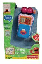 Elmo's World Talking Toy Flip Cell Phone Sesame Street Fisher-Price Mattel 2004