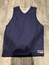 Nike Team Reversable Tank Top Mens Size Xxl Blue And White In Euc Mesh Material
