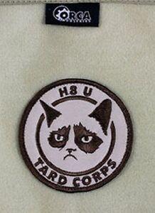 Genuine Orca Industries Patch Grumpy Cat - Tard Corps Meme Patch