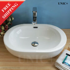 Oval Bathroom Sink Oval Vessel Sink Designer Bathroom Sink Ceramic Sink, BVC005