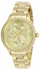 Invicta Women's Wildflower 28056 35mm Gold Dial Stainless Steel Watch