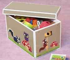 Krooom Cartón Caja de almacenamiento Eco Friendly 43 L fuerte Juguetes ordenado Dormitorio