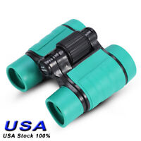 Children Kids 4x Magnification Toy Binocular Telescope with Neck Strap US STOCK