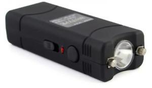 Mini Shocker Electrique Lampe Led T801 1 Million de Volts + Etui + Câble + Boite