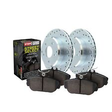 StopTech Disc Brake Pad and Rotor Kit Front for GS300 / GS400 / IS300 / SC430