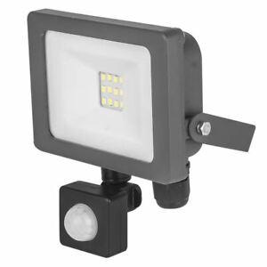 NEW 10W LED PIR LIGHT FLOODLIGHT GARDEN SECURITY LAMP OUTDOOR HOUSING SECURITY