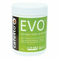 Cafetto 500g Evo Organic Espresso Clean Coffee Machine Group Cleaning Powder NEW
