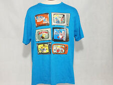 Nickelodeon Mens t shirt Tee Rocko Hey arnold Ren Stimpy Angry Beavers rugrats
