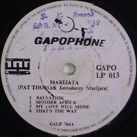 ghana afrobeat funk LP PAT THOMAS INTRODUCES MARIJATA ♫ Mp3 OG 1976 Gapophone