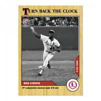 Bob Gibson - MLB TOPPS NOW 2020 Turn Back The Clock - Card 88 - Print Run: 415