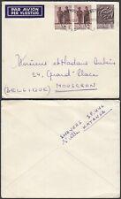 Katanga 1962- Airmail cover to Mouscron  -Belgium..........  (EB) MV-3275