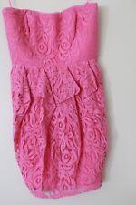 Jessica Simpson Size 12 Pink Mini Dress RRP $128 BNWT