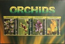 ST VINCENT GRENADINES UNION ISL 2011 611-18 Block 37 Orchideen Orchids Blumen **