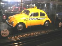 1/43 Volkswagen Besouro Beetle Kafer TAXI Rio de Janeiro Brasile 1985 Die Cast
