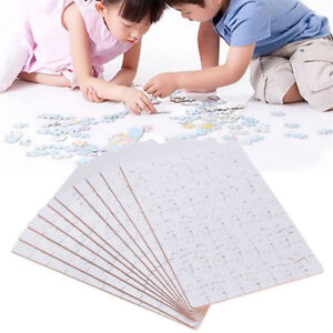 A5 DIY Blank Dye Sublimation Printable Jigsaw Puzzle For Heat Press Machine