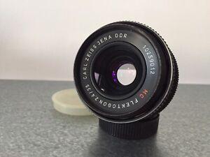 the EXCEPTIONAL Carl Zeiss Jena FLEKTOGON MC 35mm f2.4