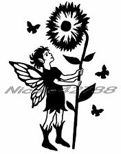 Vinyl Boy Fairy Sticker/Wall/Laptop/Tablet /Car Decal + More Colors