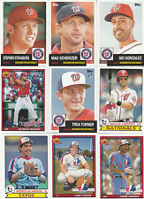 2016 TOPPS ARCHIVES NATIONALS EXPOS TEAM SET BRYCE HARPER GARY CARTER  TURNER