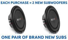(2) MB QUART DS1-304 800W 12 Inch Dual 4-Ohm Shallow Mount Car Subwoofers Subs
