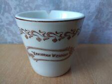 Antique coffee CUP OLD RARE Vintage LWOW Lemberg Kawiarnia Wiedenska