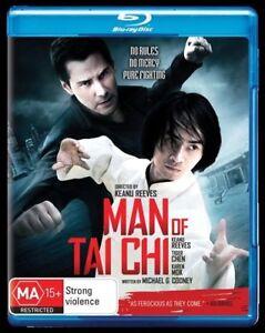 Man Of Tai Chi (Blu-ray,2013) Region B -Australian - NEW+SEALED RARE