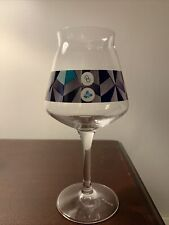 Other Half Trillium Triangle Blue Test Teku Glass
