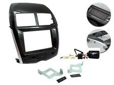 Mascherina kit Doppio 2 DIN Mitsubishi ASX, Outlander Sport 11 + comandi volante