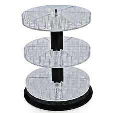 Three Tier Counter Display with Revolving base 11D x 13.5H