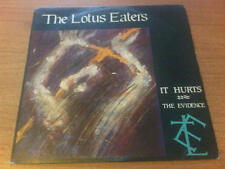 "7"" 45 GIRI THE LOTUS EATERS IT HURTS ARISTA ARS 37125  EX-/EX+ ITALY PS 1985 DST"