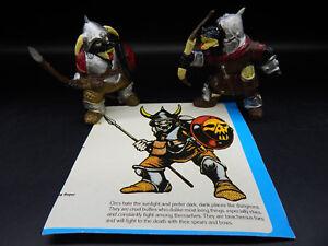 vintage 1983 tsr ORCS OF THE BROKEN BONE Dungeons & Dragons monster figures LJN